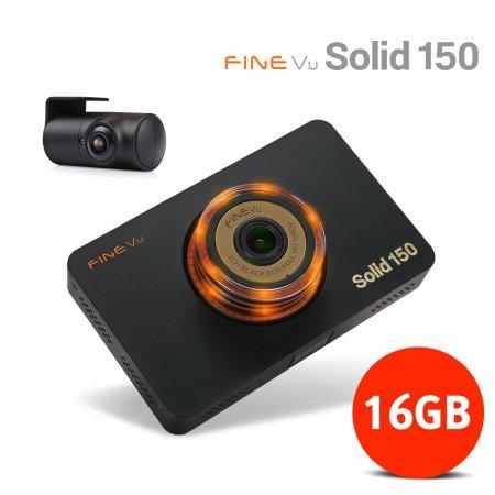 [블랙박스특가전]파인뷰 솔리드 150 FHD/D1 2채널 블랙박스 16G