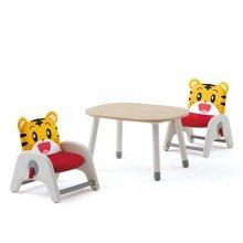 내 친구 호비 아띠 atti 유아 의자+책상세트 호비+아이보리