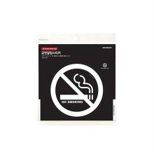 NO SMOKING[화이트]0021 알림스티커_W154183