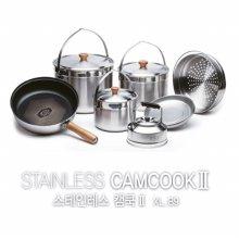 스테인레스 캠쿡2 XL /캠핑코펠/스텐레스304