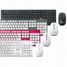 ZIO KMW4030 무선 키보드 무선 무소음 마우스 세트 블랙