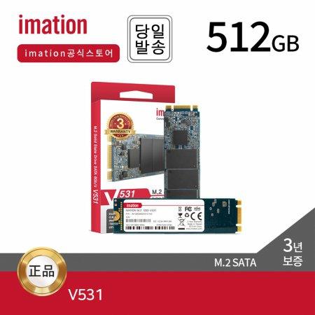 [9월 할인쿠폰]  V531 512GB M.2 2280 SSD 하드