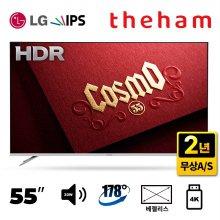 [설 연휴 L.POINT 5,000점 증정] 139cm UHD TV C551UHD HDR [전문기사배송 자가설치]