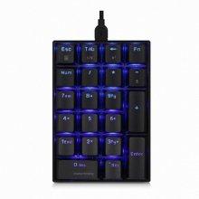 [어메이징 배송쿠폰]씽크웨이 CROAD K10 LED 기계식 숫자 키패드 적축
