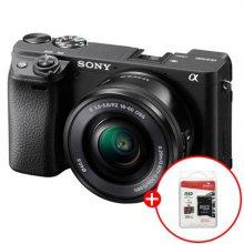 [정품등록이벤트]알파 A6400L 미러리스 카메라 렌즈KIT[블랙][본체+16-50mm]