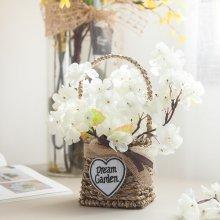 가든벚꽃바구니set 25cmP