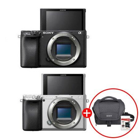 알파 A6400L 미러리스 카메라[본체+16-50mm][32G메모리카드+가방증정]