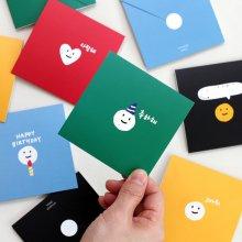 이널 메세지 카드 세트(5매)