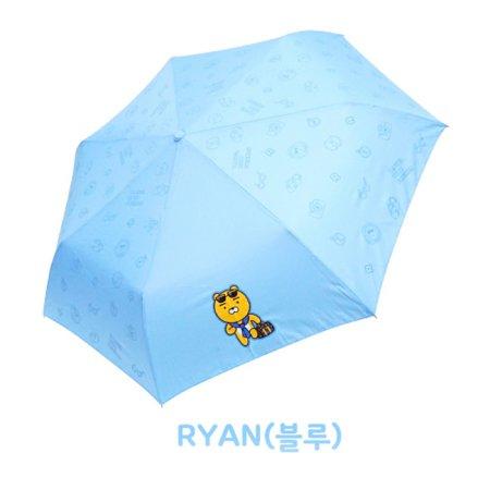 트래블패턴 3단우산 IUKTU30011 라이언(블루)
