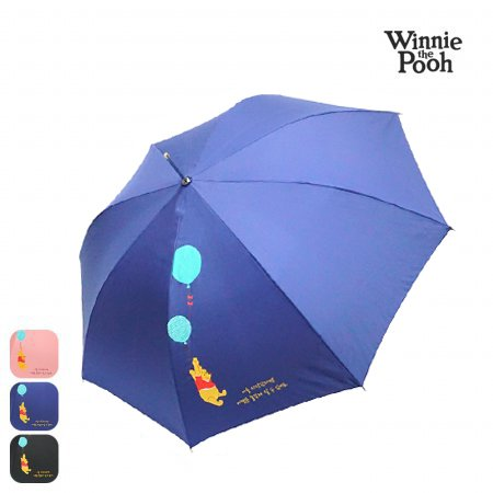 디즈니 푸우 58 풍선 장우산 HUPHU10002 네이비