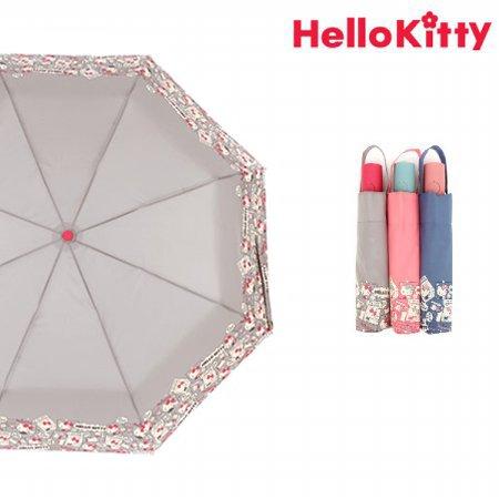 헬로키티 폴라로이드 완전자동우산 HUHKU70017 그레이
