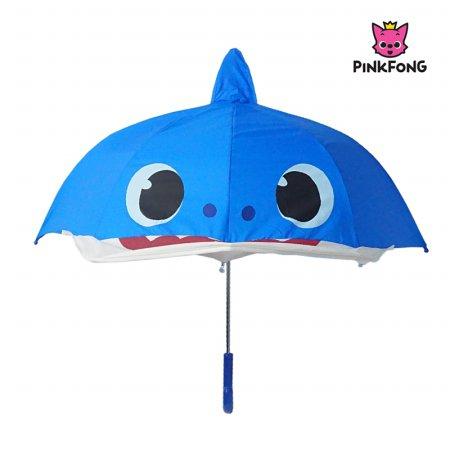 핑크퐁 아빠상어 47 페이스 장우산 IUPFU10012 블루