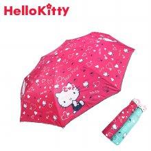 헬로키티 하트베리 완전자동우산 FUHKU70008 핑크