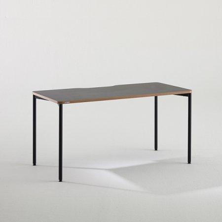 컴퓨터 책상 BDC014 (1400X700) 블랙:버건디