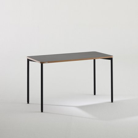 일자형 책상 BDB112 (1200X600) 라이트우드:버건디