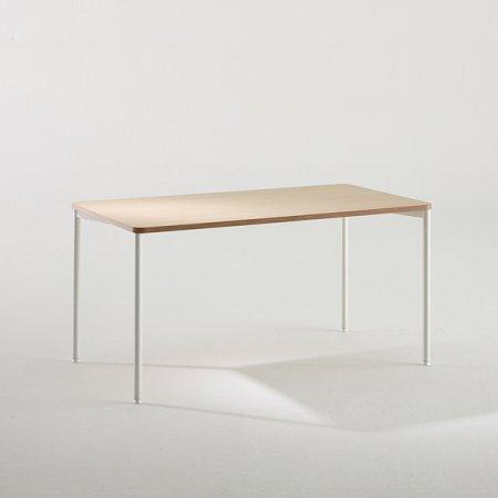 일자형 책상 BDB014 (1400X800) 화이트:블랙