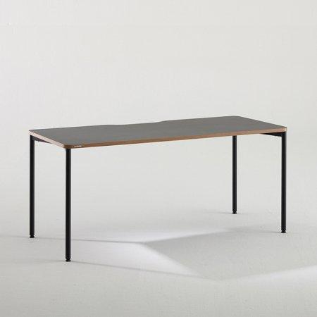 컴퓨터 책상 BDC016 (1600X700) 다크우드:블랙
