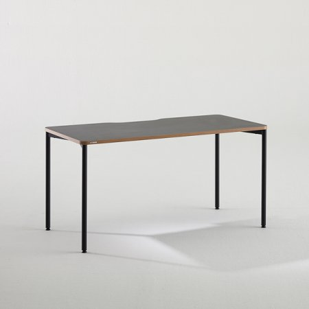 [어메이징 특가]컴퓨터 책상 BDC014 (1400X700) 화이트:블랙