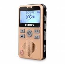 필립스 다들려 음성증폭기 VTR-7600 (골드) 8GB 보이스레코더