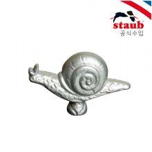 주물동물 손잡이 달팽이 8cm