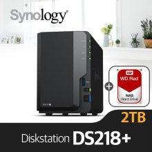 [6/3순차발송][에이블] DS218+ [WD레드 1TBx2]/NAS전용HDD