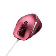 궁극의 그립감 BlueLED 컬러 유선 마우스 핑크화이트 M-XG4UBSP-G