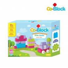 [Co-Block] 에코파스텔코블록 홈타운 45pcs