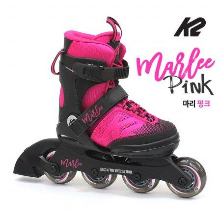 K2 정품 19년 마리핑크 5단계조절 아동용 인라인