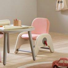 아띠아이 어린이 유아의자 / 2단계 높이조절 파스텔 핑크