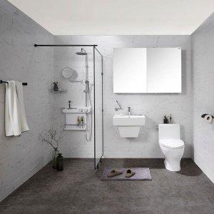 18년 NEW 욕실리모델링 욕실패키지 블랙마블
