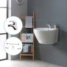 [행사특가]욕실 리모델링 - 로얄미니세트 E (세면기+수전+악세사리4종)