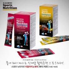 [코오롱제약] 스포츠뉴트리션 리얼아미노워터 [10포/1박스]-아미노산 보충음료! 운동보조제:체리맛