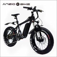 안지오바이크 E20+ 전기자전거 팻바이크 Black_350W (고객직접조립)
