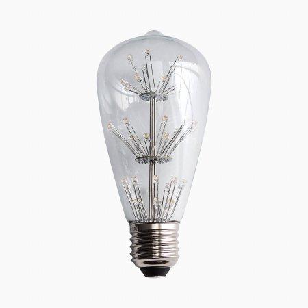 LED 가지 눈꽃 전구 ST64 2W