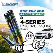 미쉐린 BMW 4시리즈 F33 07/2013- 수입차 와이퍼 MRH 600mm+MRH 450mm