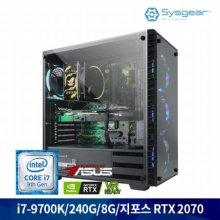 HE78C i7-9700K+RTX2070 게이밍 컴퓨터 [Window 미포함]