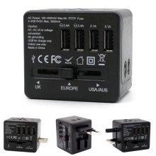 여행용 4포트 USB아답터(1BBE32)