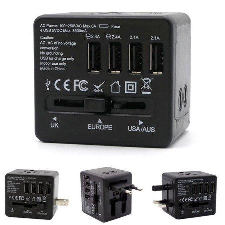 (트래블이지)여행용 4포트 USB아답터(1CB8D3)