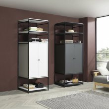 테라 속깊은 시스템 드레스룸 S 640 블랙_화이트