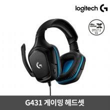 게이밍 헤드셋 G431 [로지텍코리아정품]