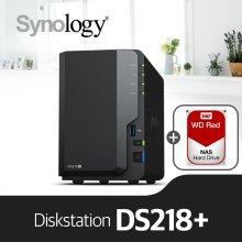 [11/29이후 출고예정][에이블] DS218+ [WD레드 1TBx2]/NAS전용HDD