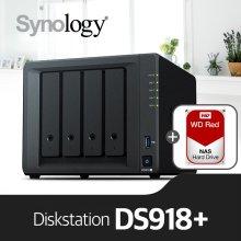 [11/29이후 순차발송] [에이블] DS918+ [WD레드 1TBx4]/NAS전용HDD