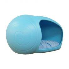 쥬펫 달팽이 펫 하우스 집 달팽이 블루(29265B)