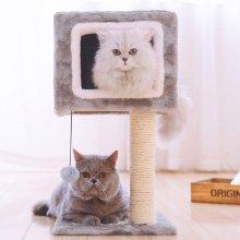 고양이 스크래쳐 하우스 집 장난감 DIY (2AA23E)