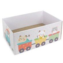 온캣 실신박스 칙칙폭폭 고양이 박스 (33727A)