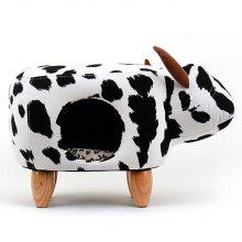 펫모닝 젖소 고양이하우스 (2A118D)