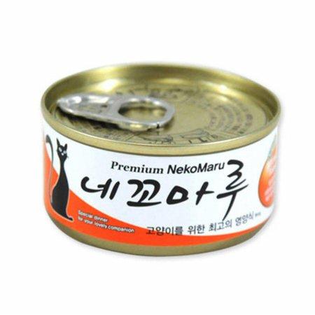 네꼬마루 참치 연어 캔 80g (2AC46D)