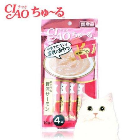 간식 캔 챠오츄르 참치연어 14g (4입) 1EA(147FCF)
