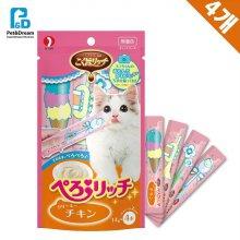 고양이 수분보충 찹찹간식 닭고기 56g(33C9E2)