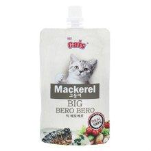 더캣츠 고양이 캣 습식 간식 빅 베로베로 고등어 85g (29510F)